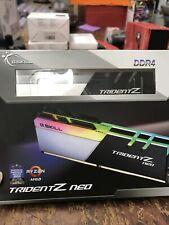 G.SKILL Trident Z Neo 32GB (2 x 16GB) 288-Pin RGB DDR4 SDRAM Desktop Memory for