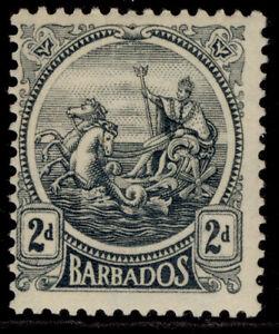 BARBADOS GV SG221, 2d grey, LH MINT.