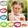 Flexible Neuheit Weiche Gläser Dumme Trinkhalm Brille für Kinder Spaß Party T8D7