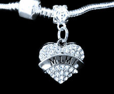 Mimi Charm jewelry gift silver Crystal Heart