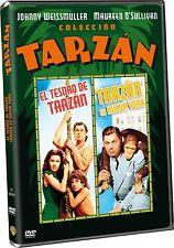 Tarzan's Secret Treasure (1941) Tarzan's New York Adventure (1942) Region 2 (UK)