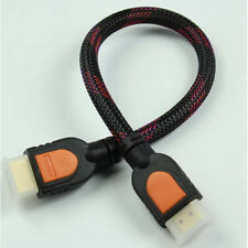 New listing Fh- For Hd Tv 3D 1.4 High-speed Braided Handy Short 1080P 4K x 2K Hdmi Cable Str