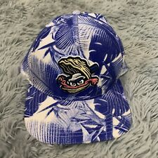 Biloxi SHUCKERS Minor League Baseball Trucker Hat Blue Hawaiian One Size