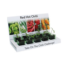 Eco Chilli Grow Your Own Kit Includes Everything to Grow 5 Varieties From Seed