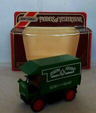 MATCHBOX Models of Yesteryear Y-29 1919 Walker Electric Van JOSEPH LUCAS ISSUE 2