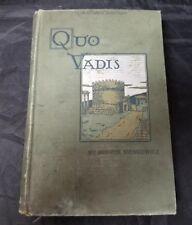 Quo Vadis Henryk Sienkiewicz 1897 Hardback Book Henry Altemus FREE SHIPPING