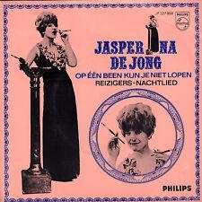"""JASPERINA DE JONG - OP 1 BEEN KUN JE NIET LOPEN (1966 SINGLE 7"""")"""