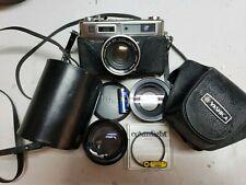 Yashica Electro 35 GSN Rangefinder Yashinon DX 45mm 1:1.7 Film Camera Untested