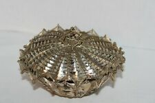 Vintage~SILVER~Metal~WIRE~Woven BASKET~Bowl~TRINKET BOX~With LID~Victorian?