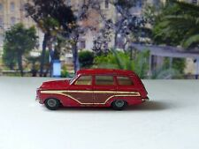 Corgi Toys 491 Ford Consul Cortina Estate red with cast wheels