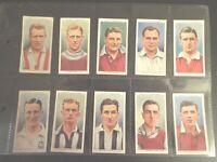 1939 Wills ASSOCIATION FOOTBALL  set 50 Tobacco Cigarette cards complete lot