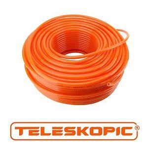 TELESKOPIC Window Cleaning Water Fed Pole Flexible PU Hose 8mm OD x 5.5mmID