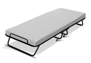 Artiss Single Folding Bed with Mattress Foldable Camping Mat Portable Foam Beds