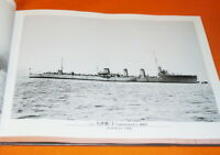 Destroyer of the Imperial Japanese Navy photo book japan,battleship,war (0249)