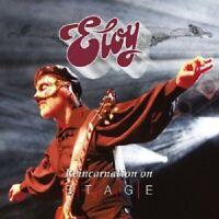ELOY - REINCARNATION ON STAGE (LIVE) 2 CD NEU