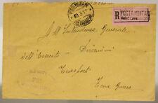 POSTA MILITARE 49^ DIVISIONE 9.3.1917 RACC.TIMBRO 72° REGGIMENTO FANTERIA#XP298D