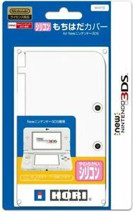 Hori silicon Protect Case Cover White for ''NEW Nintendo 3DS ''(NOT 3DS LL,XL)*