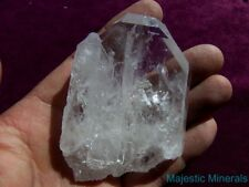NEW FIND__VERY RARE__HUGE Arkansas Quartz Crystal BLUE COOKEITE INCLUDED Point