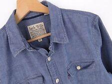 R1292 Jack Wills Camisa Top Vaqueros original premium talla M