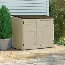 plans feet outdoor refuse lifetime horizontal canada suncast storage cubic shed sheds rubbermaid uk