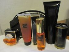 AVON Vintage RARE GOLD SET Parfum/Parfum Spray/Lotion/Power/Shower Gel/Bag 1996