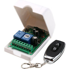 AC/DC12-48V 2-CH 433Mhz RF Remote Control Relay Switch Transceiver 2-Buttons.