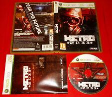 METRO 2033 XBOX 360 Versione Ufficiale Italiana 1ª Edizione ○ COMPLETO - FG