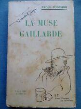 Raoul Ponchon : La muse gaillarde, 1942