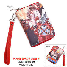 Anime Katekyo Hitman Reborn Cosplay PU Leather Purse Wallet