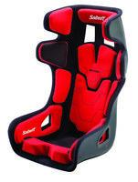 FIA SABELT SEAT GTPAD Red Rally Race Bucket Velour XL