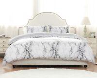 Duvet Cover Set -Printed Marble Design-Ultra Soft Comforter cover
