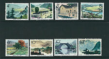 CHINA PRC 1965 S73 CHING KANG MOUNTAINS (Scott 834-41) complete VF MH