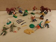 Vintage Swoppet Figures Lot Timpo and Copies Western Military Revolutionary War