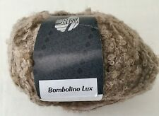 LANA GROSSA BOMBOLINO LUX - ARAN WT BOUCLE YARN COLOR 862 BEIGE