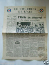 TRACT GB 2ème GM : LE COURRIER DE L'AIR 5 AOUT 1943 / RAF / VOIR AUTRES TRACTS