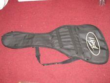 "Electric Guitar Soft Case Gig Bag 40"" Black w/ Vintage Peavey Logo Asymmetrical"