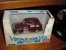 NEW 1/43 Diecast Ertl Vintage Vehicles 1958 London Taxi Dark Red Rough Box