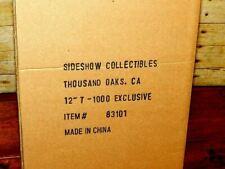 "SIDESHOW EXCLUSIVE T-1000 TERMINATOR 2 12"" BOXED RARE SET SEALED SHIPPER PATRICK"