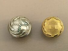 PRE 1940 ROYAL ARMY CHAPLAINS DEPARTMENT DEATH HEADS TYPE  BUTTONS.