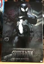 Sideshow BACK IN BLACK SPIDER-MAN Comiquette 1/4 Scale Statue Sold Out
