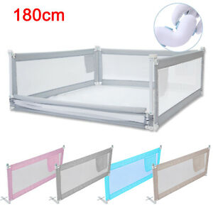 180CM Bed Safety Guards Folding Child Toddler Bed Rail Safety Protection Guard