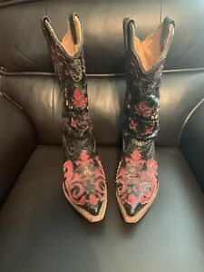 Used Corral Cowgirl Boot 7.5M