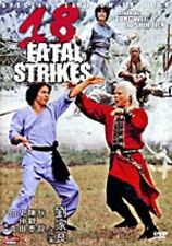 18 Fatal Strikes--- Hong Kong RARE Kung Fu Martial Arts Action movie - NEW DVD