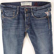 Mens Replay MA955 NEWBILL Straight Blue Jeans W34 L30