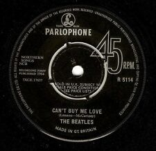 THE BEATLES Can't Buy Me Love Vinyl Record 7 Inch Parlophone R 5114 1964