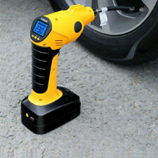 12V Wireless Electric Car Tire Air Inflatable Pump Rechargeable Digital Display