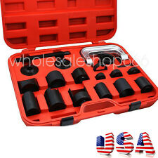 21xBall Joint Auto Repair Tool Service Remover Installing Master Adapter Car US