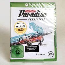 Burnout Paradise Remastered - deutsche Handelsversion - Xbox One XB1 *nagelneu*