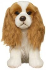 "Faithful Friends Cavalier King Charles Spaniel Blenheim 12"" Soft Toy Dog"
