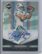 BRIAN HARTLINE 2011 LIMITED MONIKERS SILVER DOLPHINS AUTO #D /25
